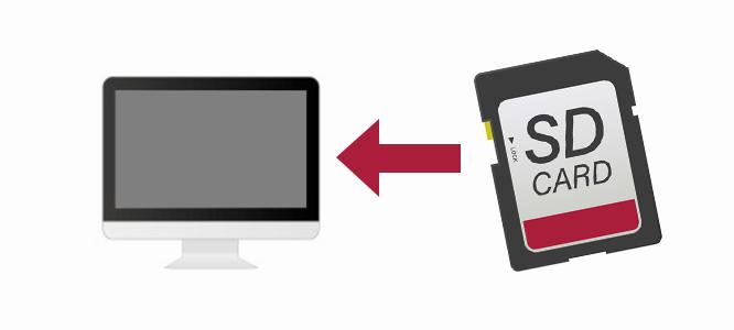 iMacのSDカードスロットが認識しない?